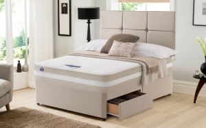 Silentnight Moscow 1200 Pocket Memory Divan Bed