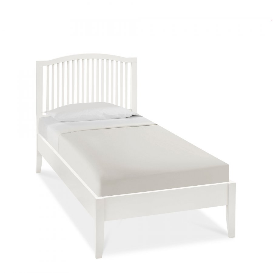 Bentley Designs Ashby White Bed Frame