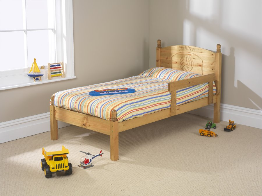 Friendship Mill Football Bed Frame