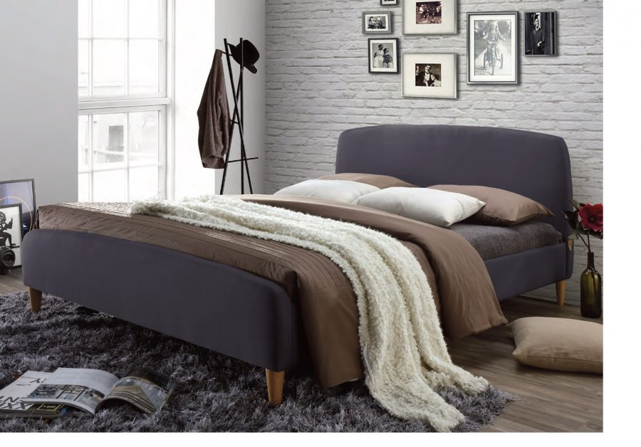 Time Living Geneva Fabric Bed