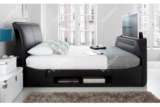 Kaydian Maximus Fabric Media Bed Frame