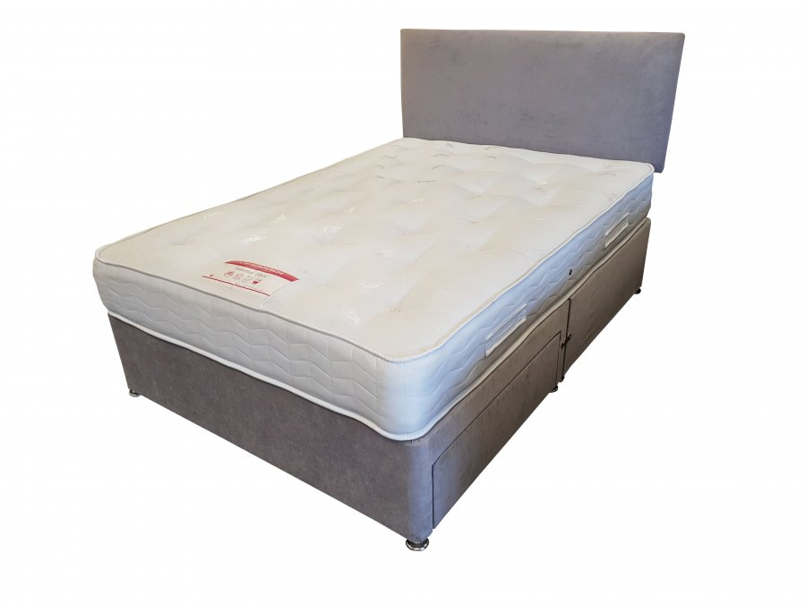 Venetian Haze Custom King Size Bed