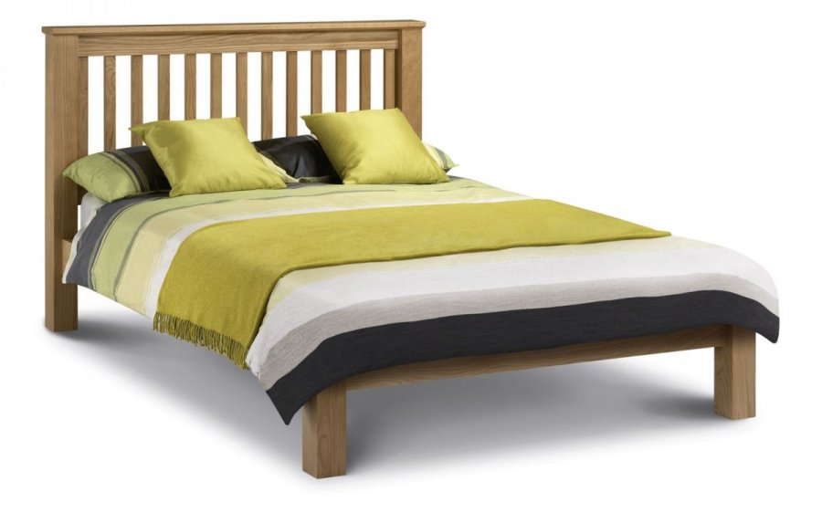 Julian Bowen Amsterdam Low Foot End Oak Bed Frame
