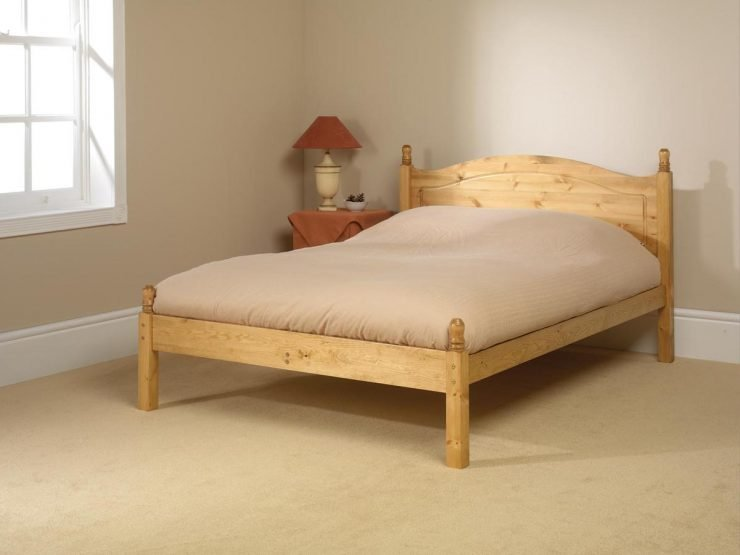 Orlando Low Foot Custom King Size Bed Frame