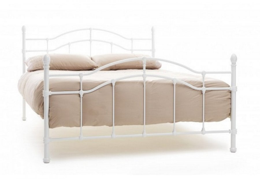 "4'6"" (double) Serene Paris Metal Bed Frame"