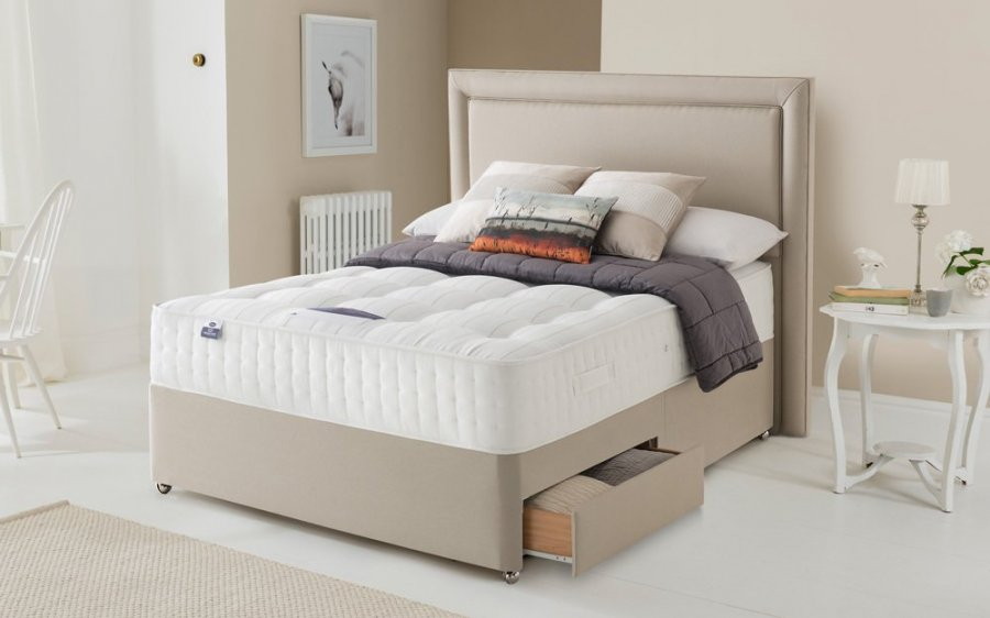 Silentnight 2600 Pocket Naturals Divan Set